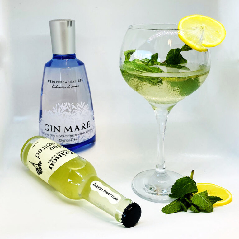 Zzinga and gin